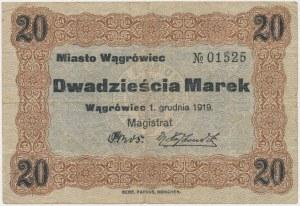 Wągrówiec, 20 marek 1919