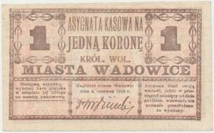 Wadowice, 1 korona 1919