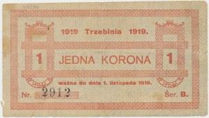 Trzebinia, 1 korona 1919