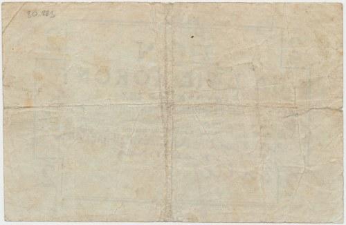 Trzebinia, Spółka dla Przemysłu Naftowego, 2 korony (ważny do 30.09.1919)