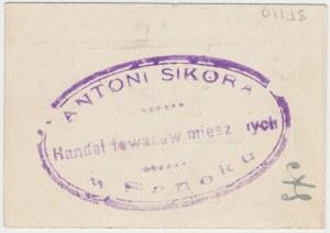 Sanok, Składnica i Sklep Kółka rolniczego, 50 fenigów 1920