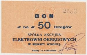 Siersza Wodna, Elektrownia Okręgowa, 50 fenigów (1920)
