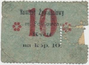 Sosnowiec, Komitet Żywnościowy, 10 kopiejek (1914)