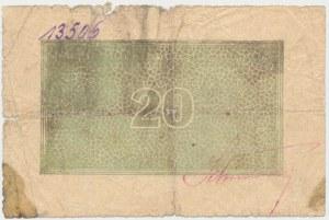 Siersza, Galicyjskie Akcyjne Zakłady Górnicze, 20 (halerzy 1919)
