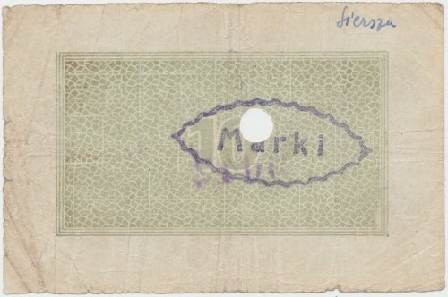Siersza, Galicyjskie Akcyjne Zakłady Górnicze, 1 Marka / 10 (halerzy 1919)