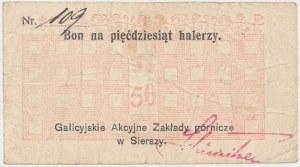 Siersza, Galicyjskie Zakłady Górnicze, 50 halerzy (1919)