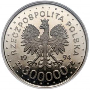 Próba NIKIEL 300.000 złotych 1994 Kolbe - NGC PF68 UC