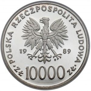10.000 złotych 1989 Jan Paweł II - na kratce - NGC PF69 UC (MAX NGC)