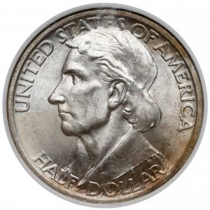 USA, 50 centów (Half dolar) 1936 - Boone - NGC MS65