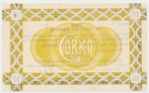 Siersza, Fabryka Cementu GÓRKA, 10 halerzy 1919 Ser.C - blankiet