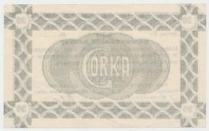 Siersza, Fabryka Cementu GÓRKA, 20 halerzy 1919 Ser.C - blankiet