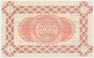 Siersza, Fabryka Cementu GÓRKA - 2 korony 1919 Ser.C - blankiet