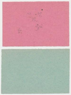 Sieradz, 5 i 10 kopiejek 1914 - blankiety (2szt)
