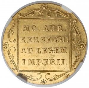 Powstanie Listopadowe, Dukat Warszawa 1831 - kropka przed - NGC MS61