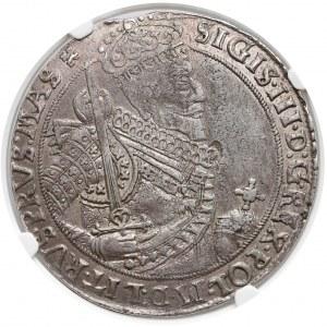 Zygmunt III Waza, Talar Bydgoszcz 1629 II - NGC AU50