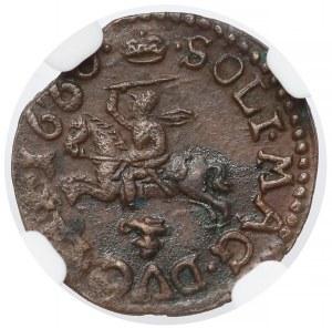 Jan II Kazimierz, Boratynka 1660, Ujazdów - NGC MS61 BN