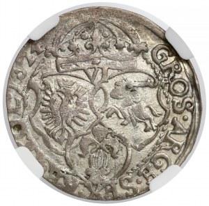 Zygmunt III Waza, Szóstak Kraków 1624 - NGC AU53