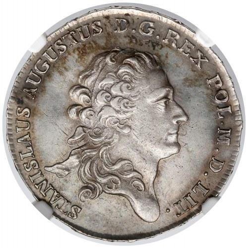 Poniatowski, Półtalar 1782 E.B. - rzadki i b. ładny