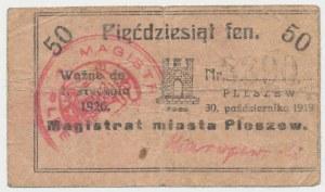 Pleszew, 50 fenigów 1919