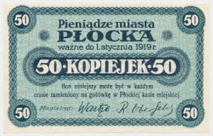 Płock, 50 kopiejek (ważne do 1.1.1919)