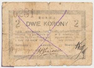 Pińczów, 2 korony 1919