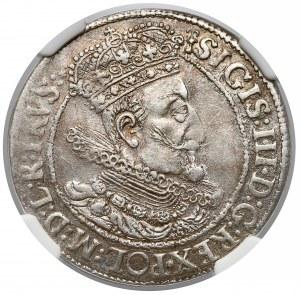 Zygmunt III Waza, Ort Gdańsk 1616 - NGC AU58