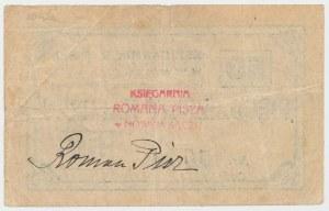 Nowy Sącz, Księgarnia R. PISZA, 50 halerzy (1919)