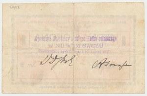 Nowy Sącz, Składnica i Sklep Kółka Rolniczego, 1 korona (ważna do 1.11.1919)