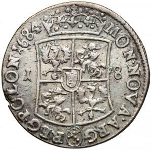 Jan III Sobieski, Ort Bydgoszcz 1684 TLB - 6 pasków
