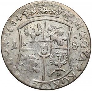 Jan III Sobieski, Ort Bydgoszcz 1684 TLB - 4 paski