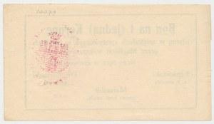 Nowy Sącz, 1 korona 1918 - czerwiec - stempel owalny