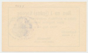 Nowy Sącz, 1 korona 1918 - wrzesień