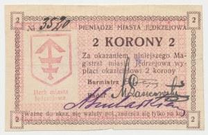 Jędrzejów, 2 korony (1919)