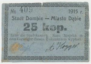 Dąbie, 25 kopiejek 1915