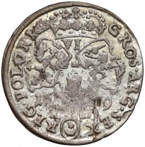 Jan III Sobieski, Szóstak Bydgoszcz 1679 - TLB na Rw.