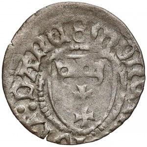 Kazimierz IV Jagiellończyk, Szeląg Gdańsk - */8