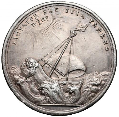 Szwecja, Medal na pamiątkę Rady Upsalskiej 1693 r.