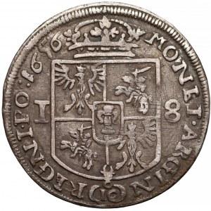 Jan II Kazimierz, Ort Kraków 1656 IT IC - błąd ARGIN