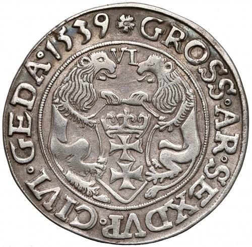 Zygmunt I Stary, Szóstak Gdańsk 1539 - ostatni - RZADKOŚĆ