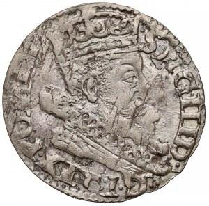 Zygmunt III Waza, Grosz Kraków 1606 - bez obwódki