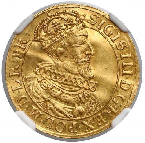 Zygmunt III Waza, Dukat Gdańsk 1631 SB - ładny