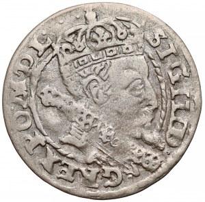 Zygmunt III Waza, Grosz Kraków 1606 - Lewart w tarczy