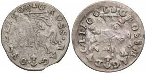 Zygmunt III Waza, Grosze Wilno 1608 i 1609 (2szt)