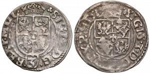 Zygmunt III Waza, Półtorak 1614 Kraków i Bydgoszcz (2szt)