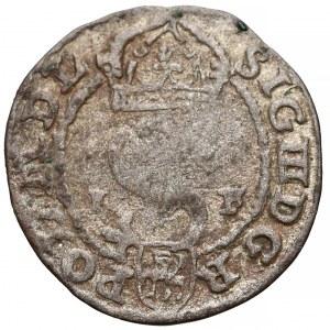 Zygmunt III Waza, Szeląg Olkusz 1590 IF - Firlej