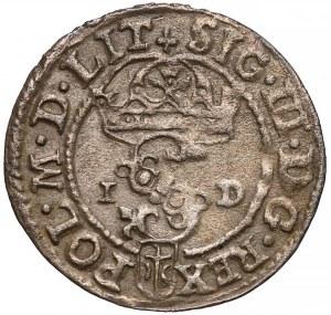 Zygmunt III Waza, Szeląg Olkusz 1588 - pierwszy