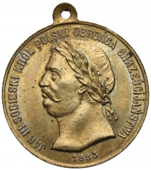 Medal Jan III Sobieski Obrońca Wiednia 1683