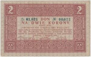 Jaworzno, Gwarectwo węglowe, 2 korony 1918