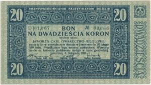 Jaworzno, Gwarectwo węglowe, 20 koron 1918