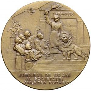 Rumunia, Medal 'Tinerimea Romania' 1878-1938